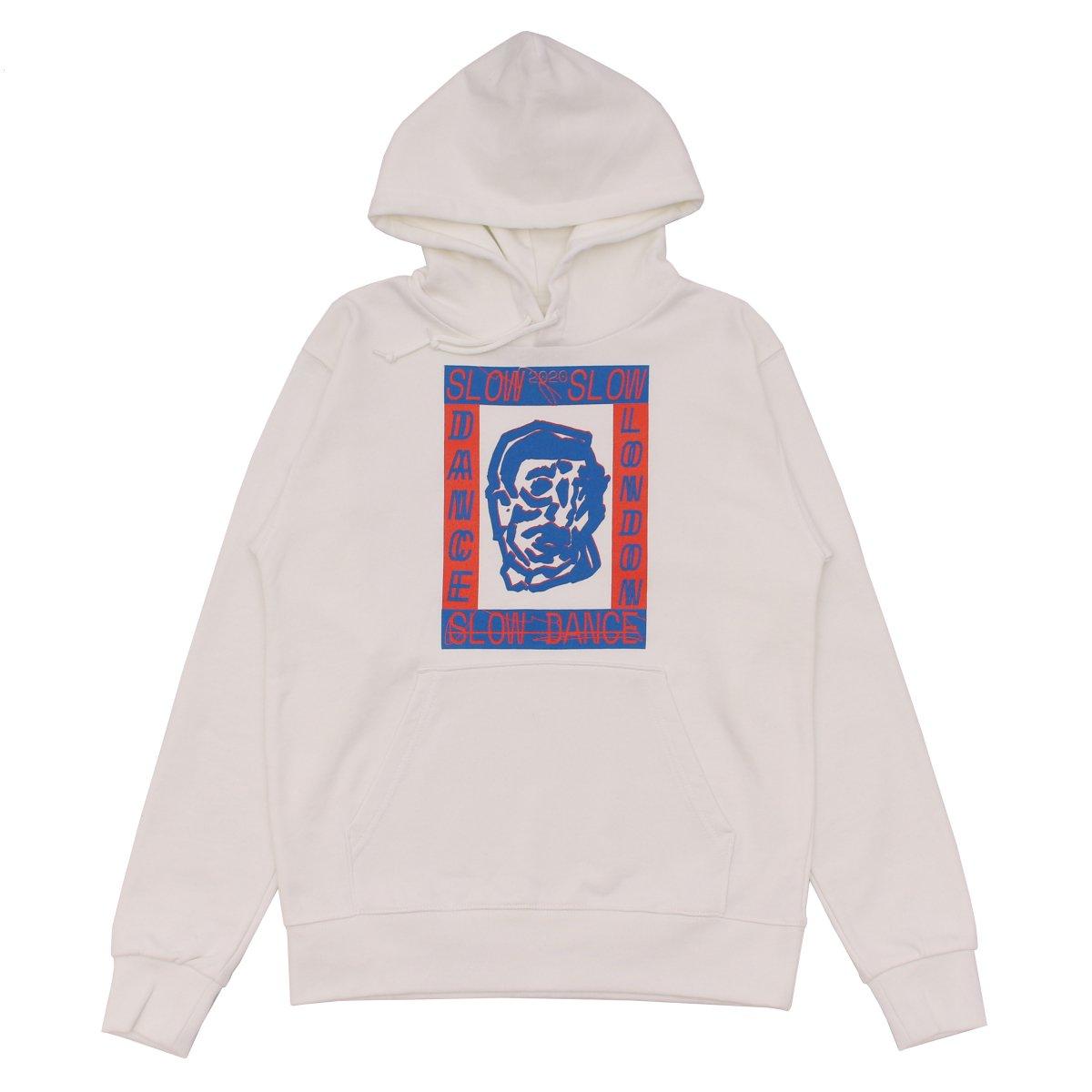 SLOW DANCE × LOCAL ALLIANCE Basic Logo Hoodie 【WHITE】