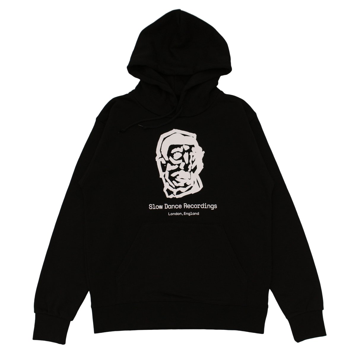 SLOW DANCE × LOCAL ALLIANCE Basic Logo Hoodie 【BLACK】