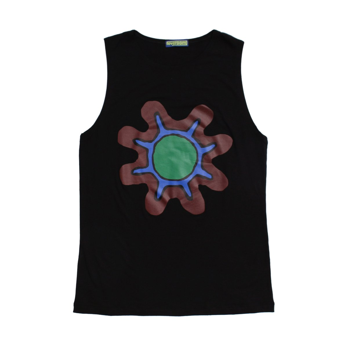 GERM FLOWER TANK TOP 【BLACK】