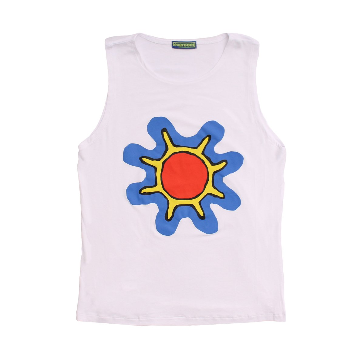 GERM FLOWER TANK TOP 【WHITE】