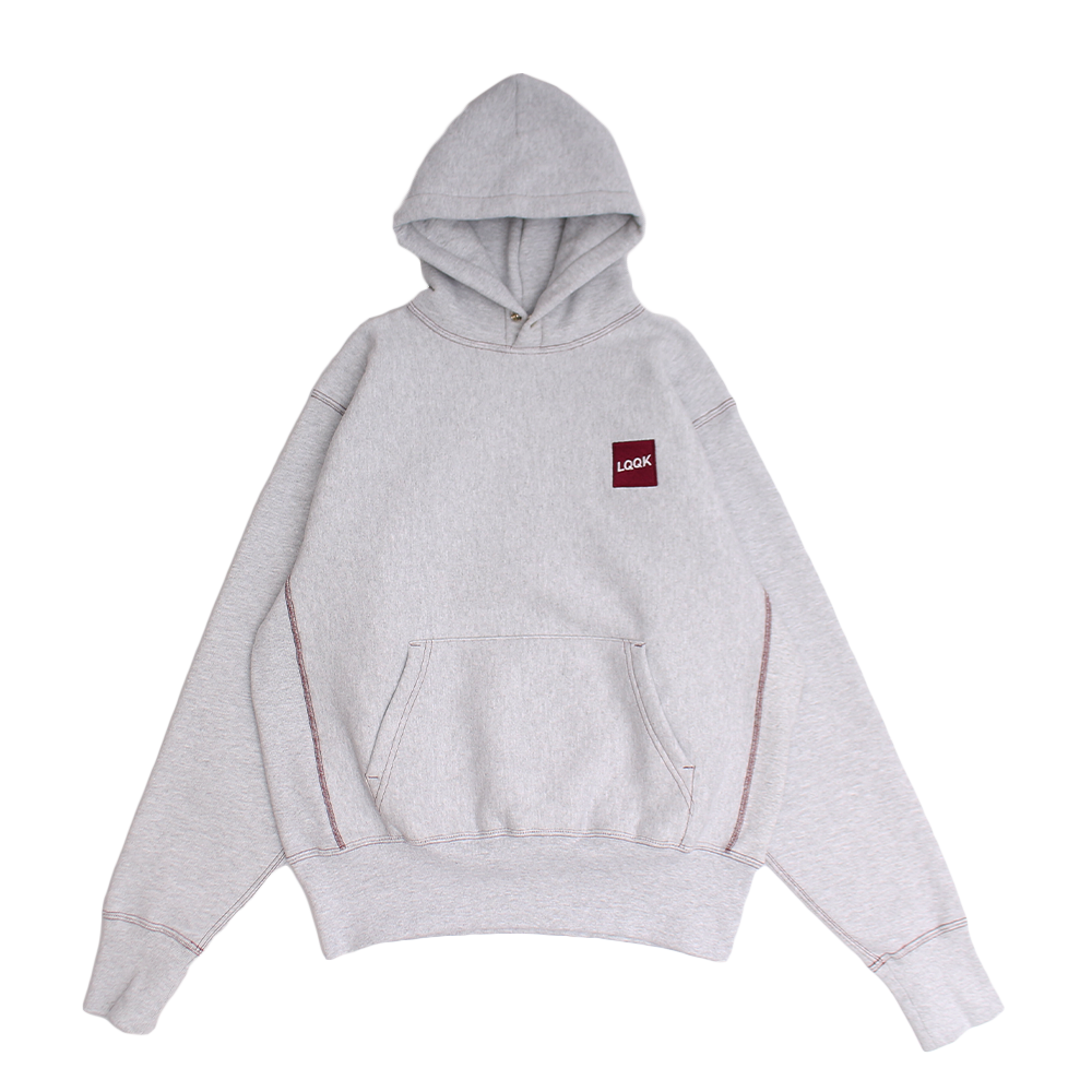 SIGNATURE SNAP HOODIE【HEATHER GREY】