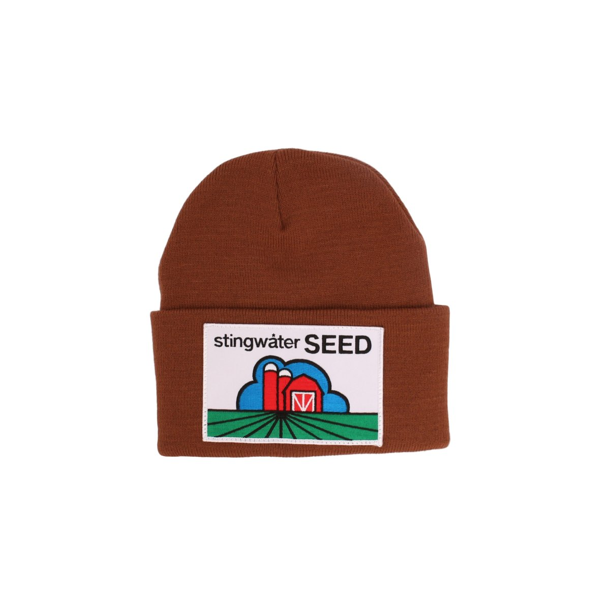 Stingwater Seed Beanie (embroidered patch)