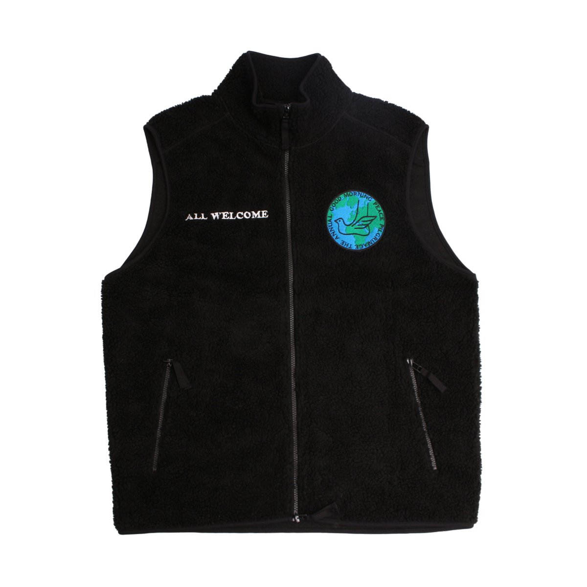 ALL WELCOME ZIP THRU VEST