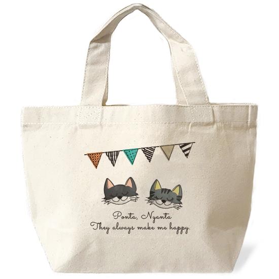 ネコさんバッグ・フラグ「複数ネコさん」
