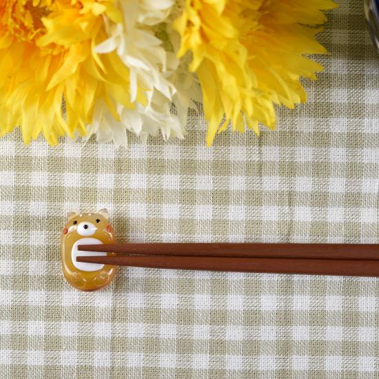 【ガラス細工】シバイヌ箸置き
