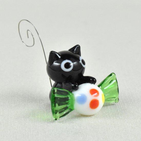 【ガラス細工】キャンディキャット