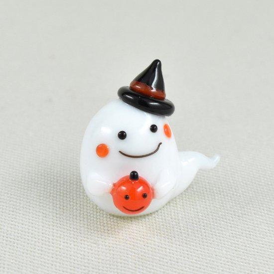 【ガラス細工】かぼちゃどうぞおばけ