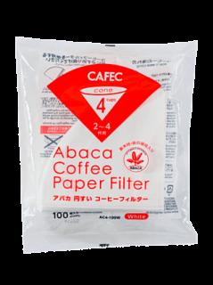CAFEC アバカ円錐コーヒーフィルター(2〜4杯用)