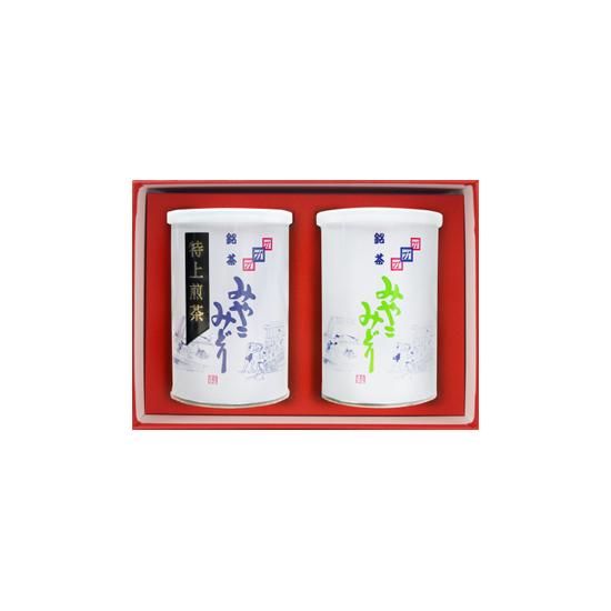 みやこみどり【都印】【松印】 (SA-K-AB) 90g×2 2缶詰