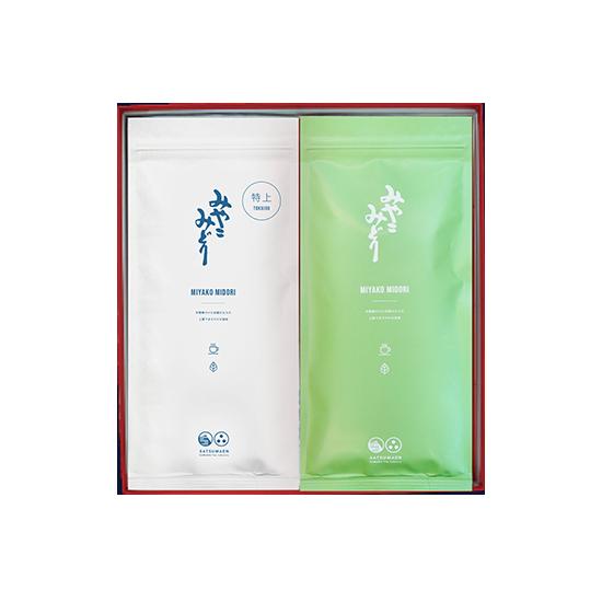みやこみどり【都印】【松印】(商品番号SA-F-AB) 100g×2袋詰