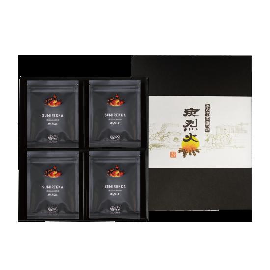 【炭火仕上高級煎茶】 (商品番号T-105) 炭烈火 30g×20袋・化粧箱