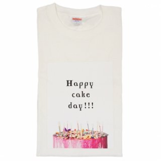 "<img class='new_mark_img1' src='https://img.shop-pro.jp/img/new/icons1.gif' style='border:none;display:inline;margin:0px;padding:0px;width:auto;' />"" GODPIVA ""  Happy Cake Day!!!ママ用Tシャツ"