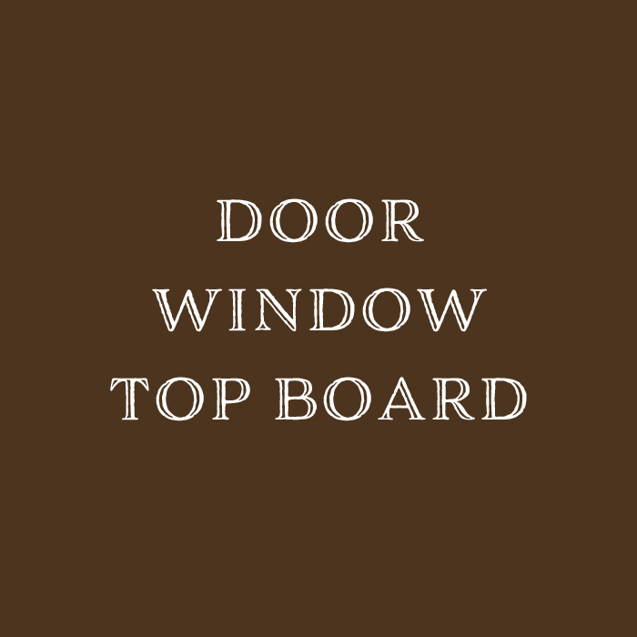 doorwindowtopboard