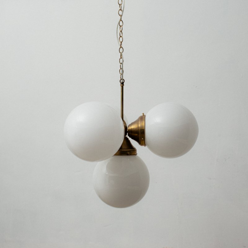 OPL058<br> 4 BULBS LIGHT / 真鍮4灯照明