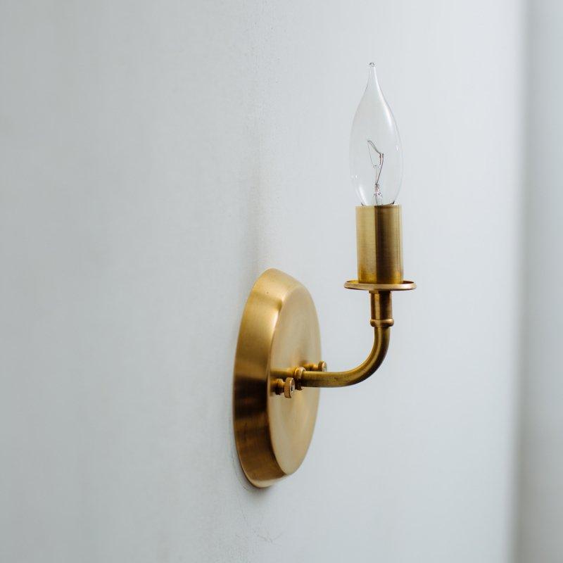 OBL019<br>BRACKET LAMP / 真鍮ブラケットランプ