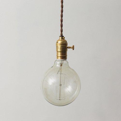 OPL001<br>EDISON LAMP - Switch / 真鍮エジソンランプ