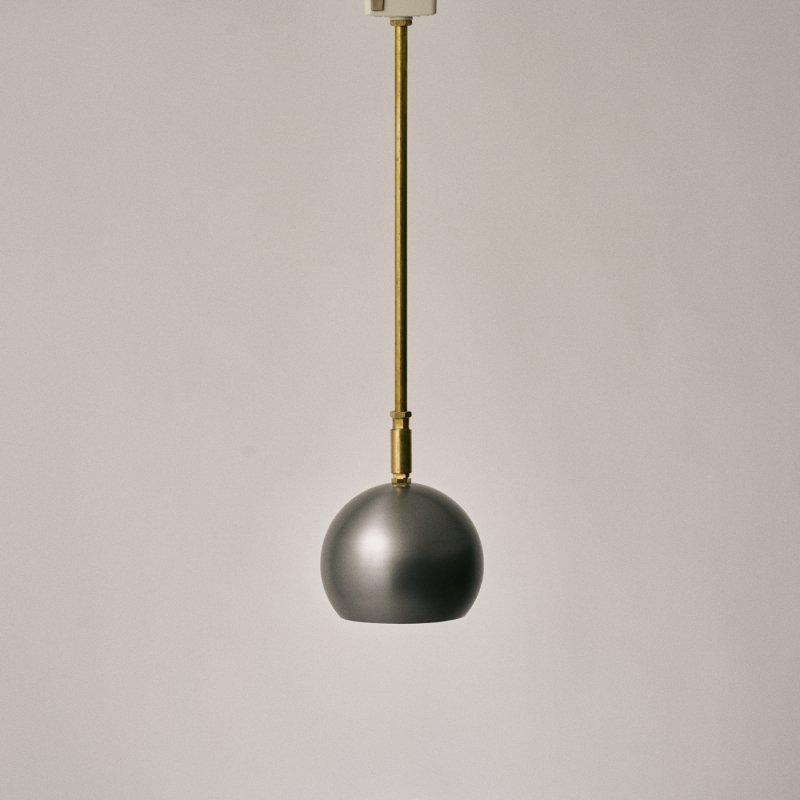 OPL079-M <br> BALL SPOT LAMP - M size / スチールボール スポット照明