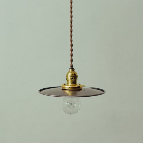OPL083<br>METAL PENDANT LIGHT - STEEL / メタルシェード照明 スチール