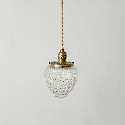 OPL085<br>GLASS SHADE LAMP- CL / 真鍮ガラスシェード照明