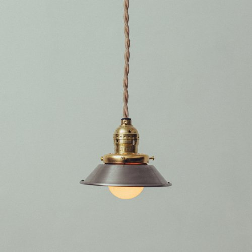OPL087<br>METAL PENDANT LIGHT - ALUMINUM / メタルシェード照明 アルミ
