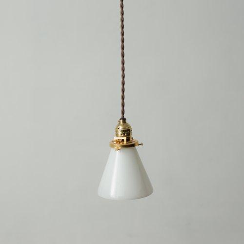 OPL347<br>GLASS SHADE LAMP / 真鍮ガラスシェード照明