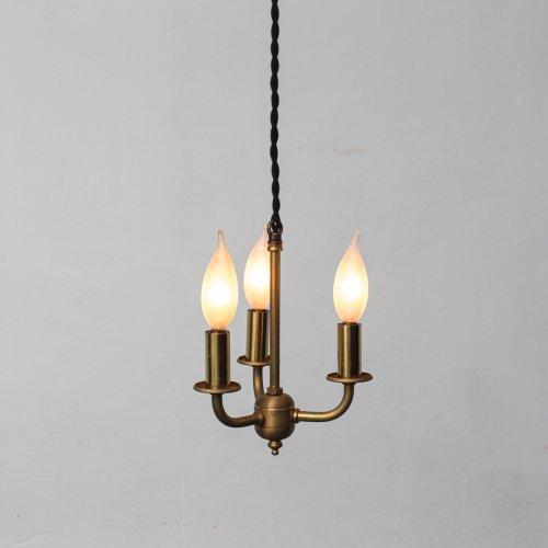 OPL068<br>3 BULBS LIGHT / 真鍮2灯照明