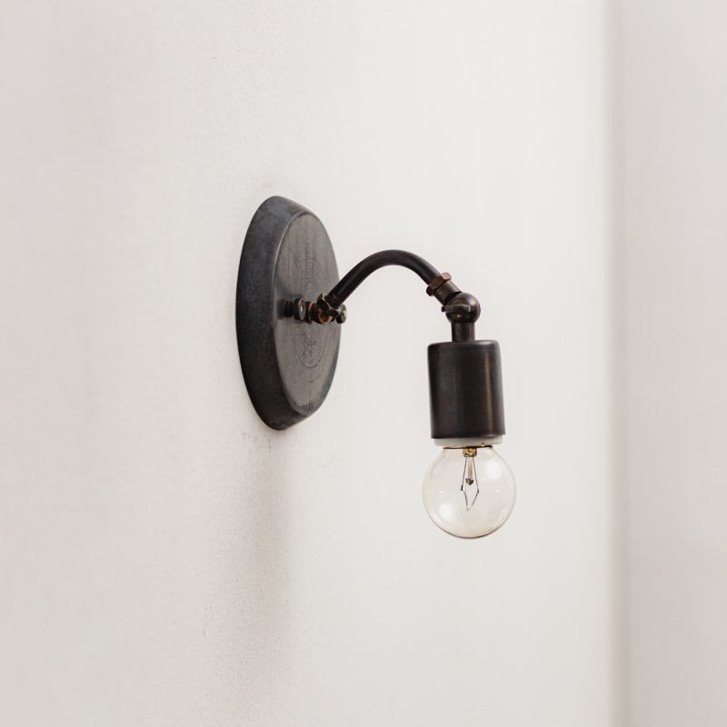 OBL031-A<br>BRACKET LAMP - Black Brass / 真鍮ブラケットランプ