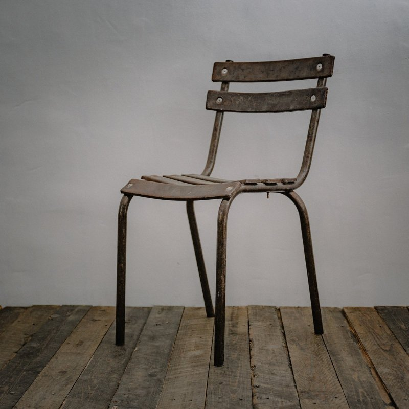 STEEL CHAIR<br>スチール チェア