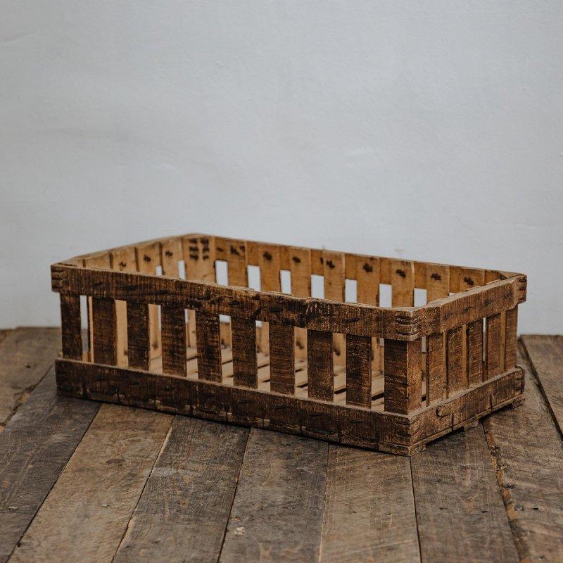 WOOD BOX<br>ヴィンテージ ウッドボックス