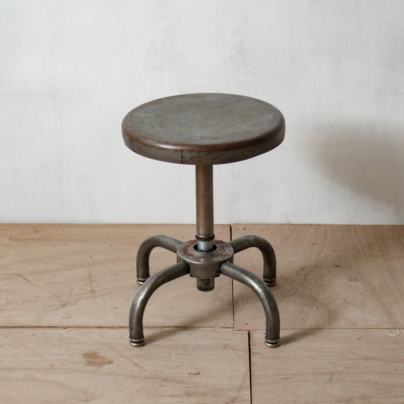 STEEL STOOL<br>ヴィンテージ スチール スツール