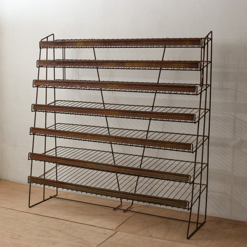 WIRE RACK<br> ヴィンテージ ワイヤーラック