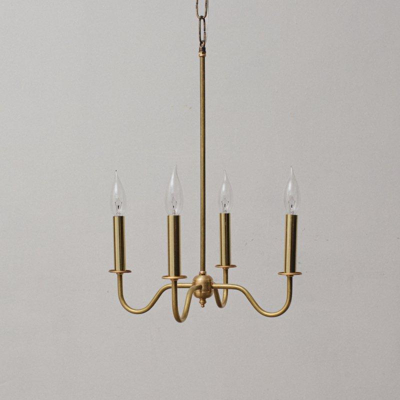 OPL029<br> 4 BULBS LIGHT / 真鍮4灯照明