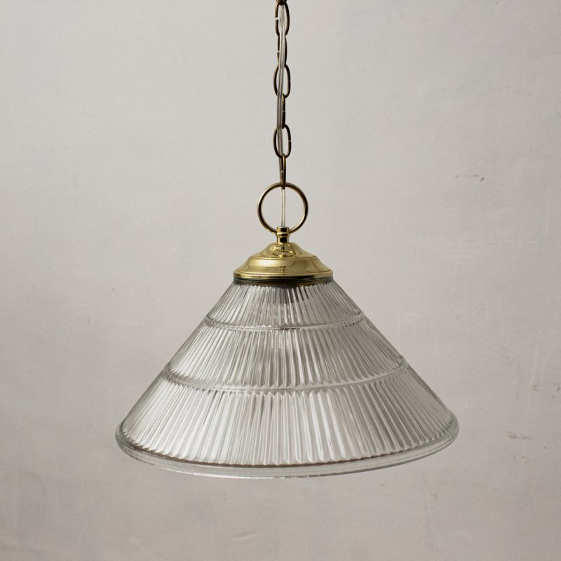 OPL361<br>VIANNE STYLE SHADE PENDANT LIGHT / 真鍮ガラスシェード照明