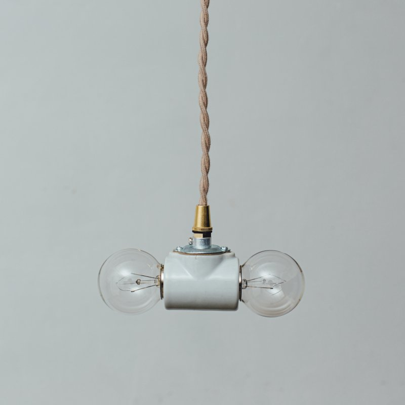 OPL435<br>2 BULBS PORCELAIN PENDANT LAMP / 陶器照明