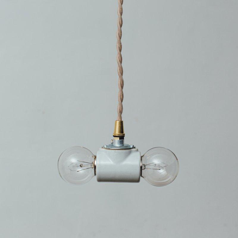 OPL435<br>2 BULBS PORCELAIN PENDANT LAMP / 陶器照明