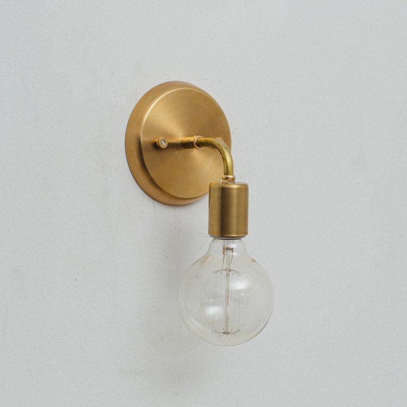 OBL018<br>BRACKET LAMP / 真鍮ブラケットランプ