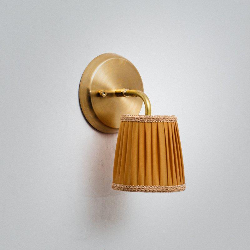 OBL020<br>COTTON SHADE BRACKET LAMP / コットンシェードブラケットランプ
