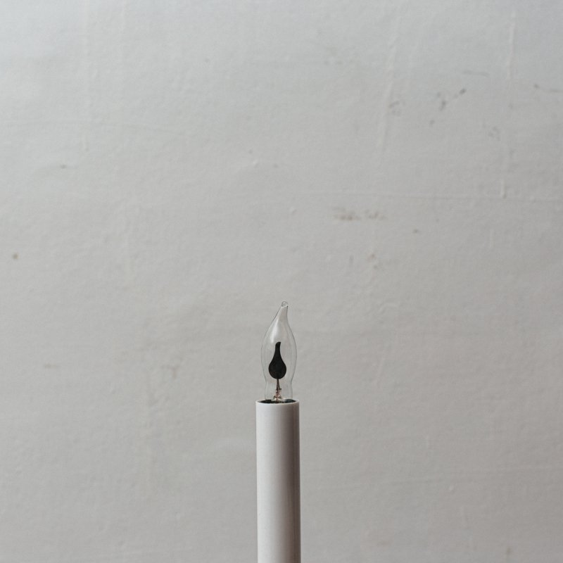 LAMP BULB E12 3W - FLICKER FLAME S<br>フリッカー電球 E12 3W クリア