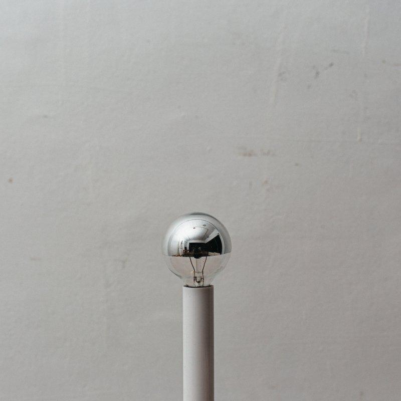 LAMP BULB E12 25W - SILVER CROWN GLOBE HALF MIRROR<br>白熱電球 E12 25W