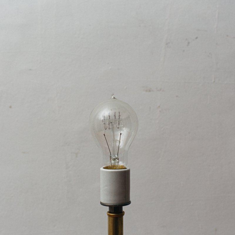 LAMP BULB E26 60W - EDISON A-SHAPE S<br>白熱電球 E26 60W エジソン