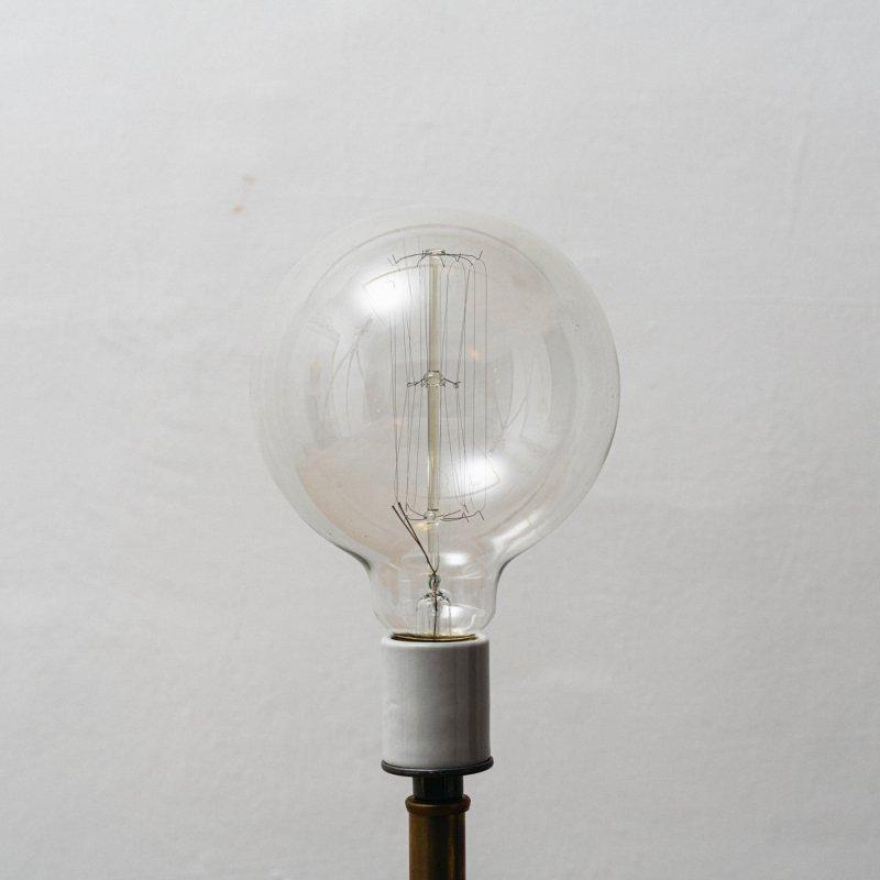 LAMP BULB E26 60W - EDISON GLOBE L<br>白熱電球 E26 60W エジソン