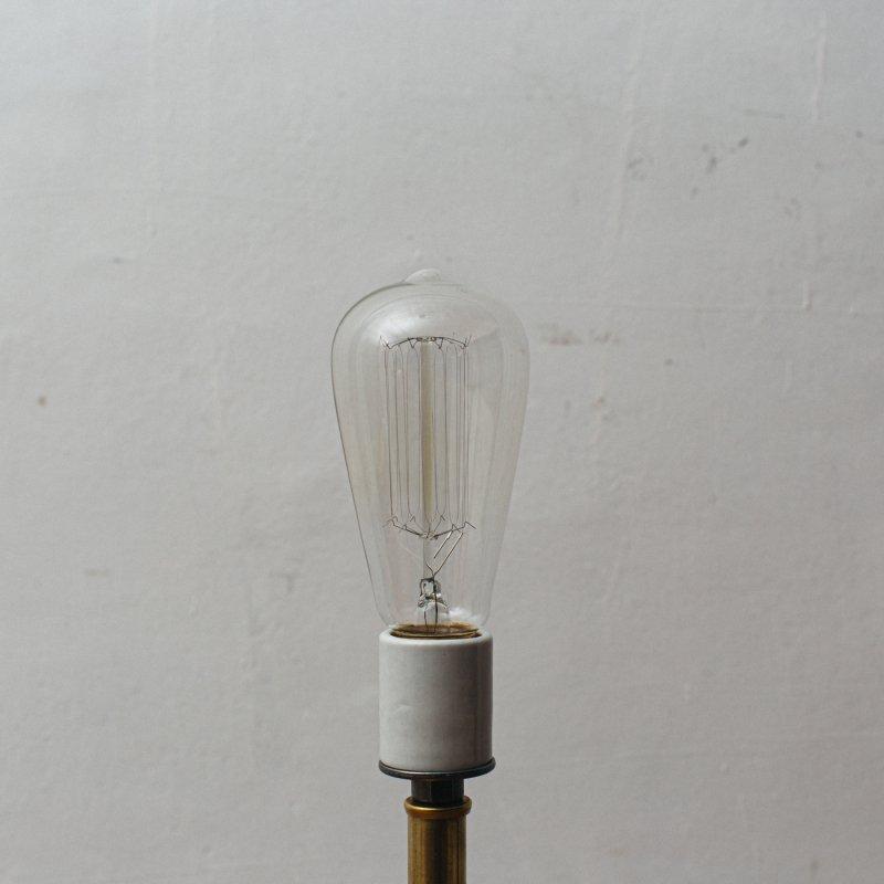 LAMP BULB E26 60W - EDISON SIGNATURE L<br>白熱電球 E26 60W エジソン