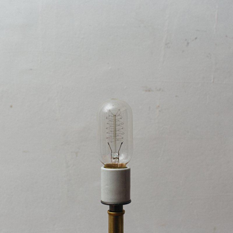 LAMP BULB E26 60W - EDISON TUBULAR SPIRAL<br>白熱電球 E26 60W エジソン