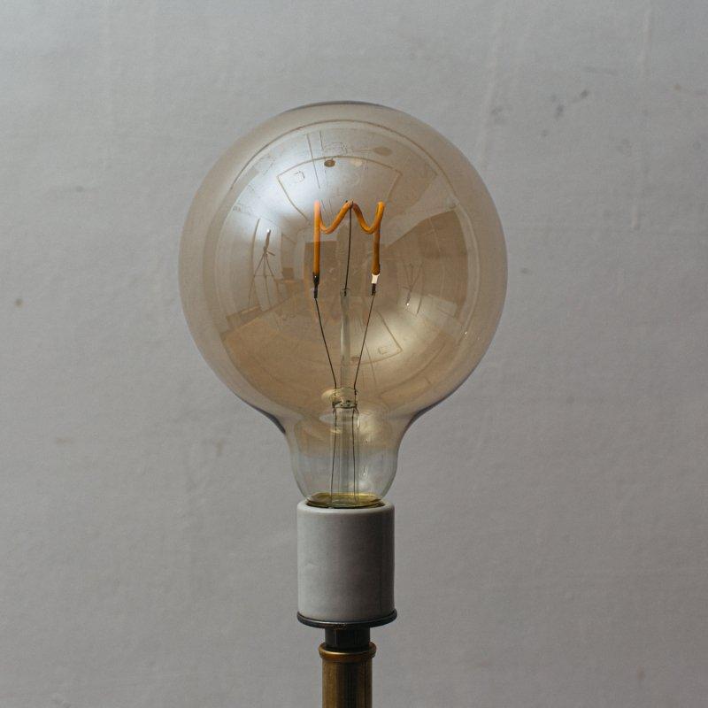 LED BULB E26 3.8W - G125 EDISON AMBER<br>LED電球 E26 3.8W エジソン アンバー