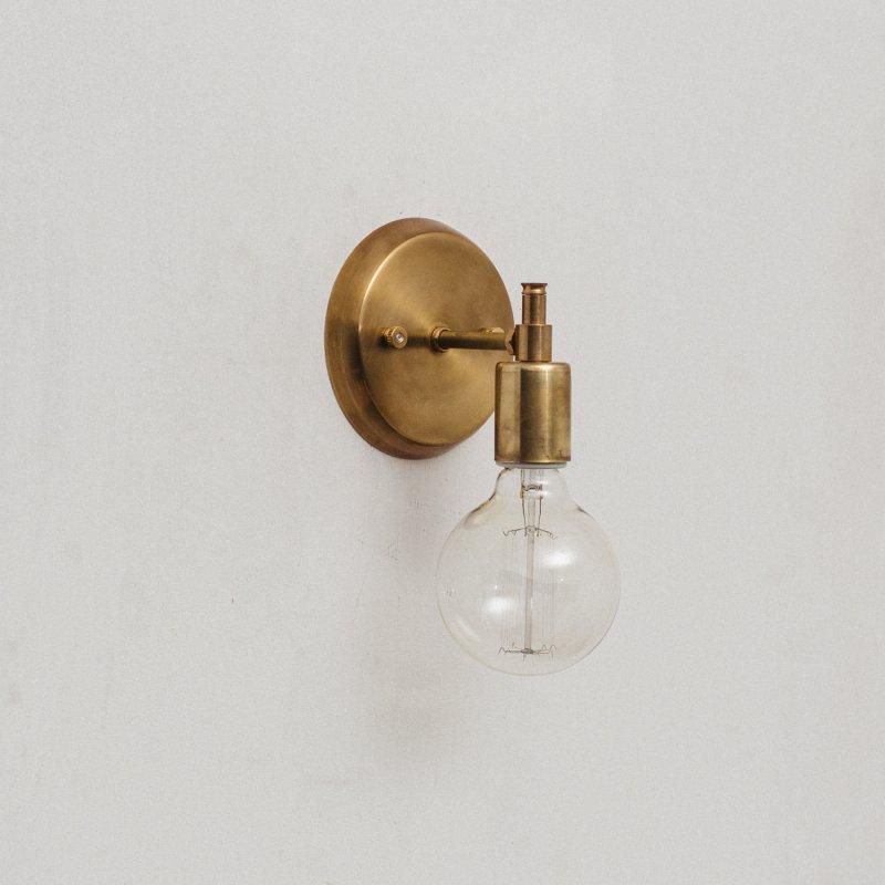 OBL046<br>BRACKET LAMP / 真鍮ブラケットランプ