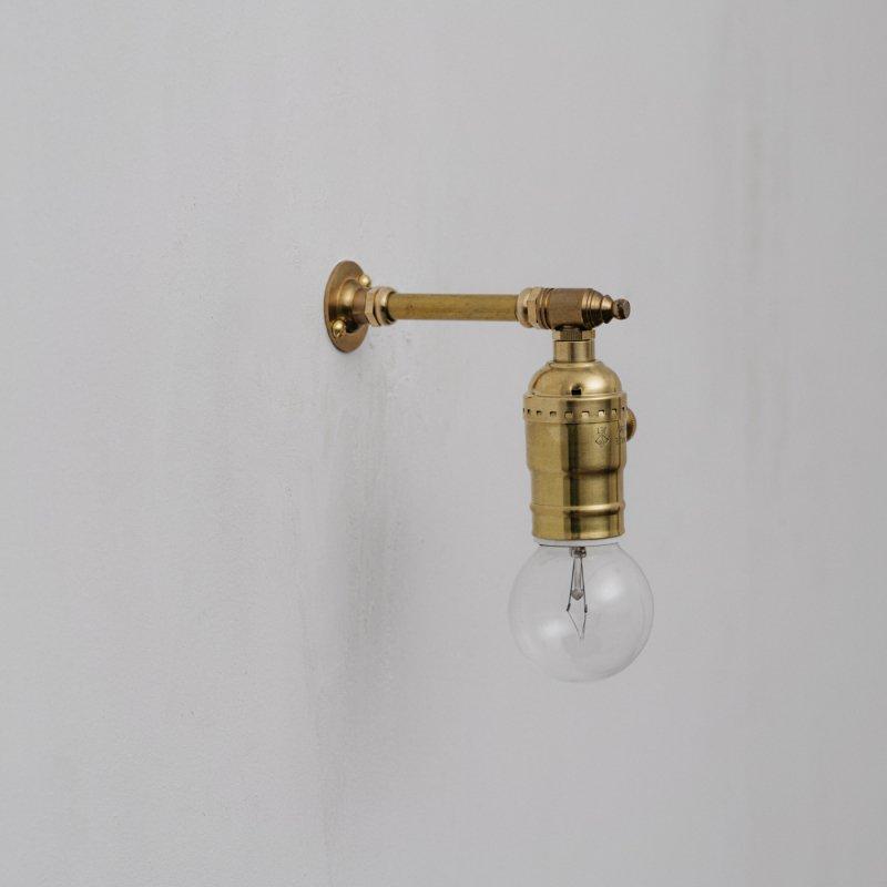 OBL036<br>BRACKET LAMP / 真鍮ブラケットランプ