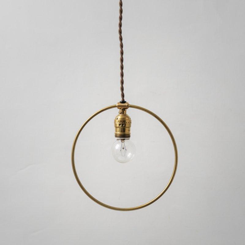 OPL065<br>HOOP LAMP / 真鍮照明
