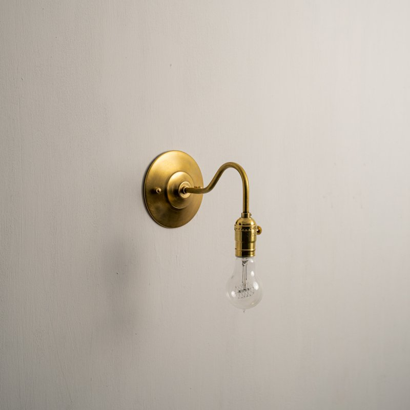 OBL024D<br>BRACKET LAMP / 真鍮ブラケットランプ