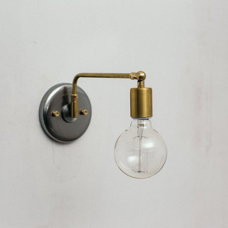 OBL041B<br>BRACKET LAMP - SWING / 真鍮ブラケットランプ