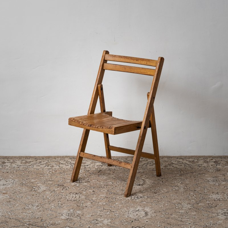 FOLDING CHAIR<br> ヴィンテージ フォールディング チェア